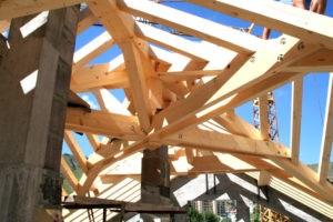 charpentes en bois solides et durables à Saint-Jean-de-Maurienne